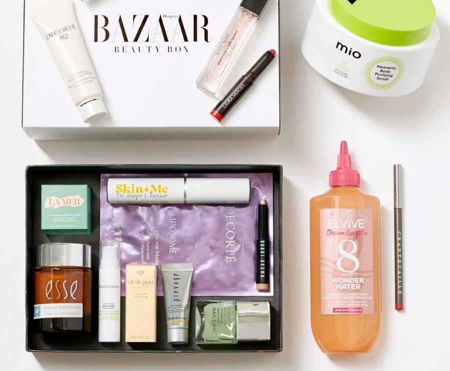 Harper's Bazaar Beauty Box – Worth £299