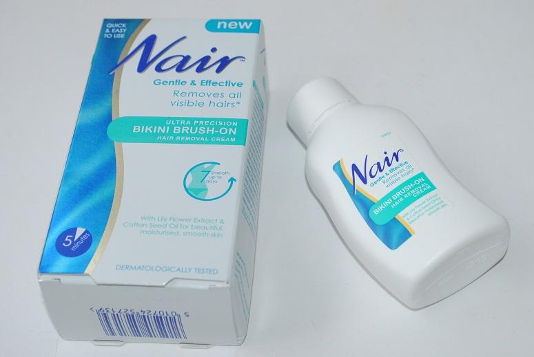Nair Bikini Brush On Hair Removal Cream Review Really Ree