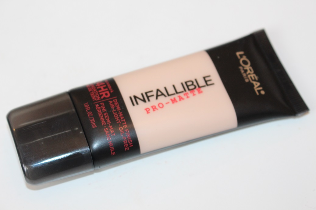 L Oreal Infallible Pro Matte Foundation Review Really Ree