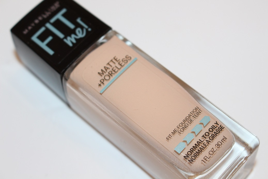 Maybelline Fit Me Matte Poreless Foundation Review Really Ree