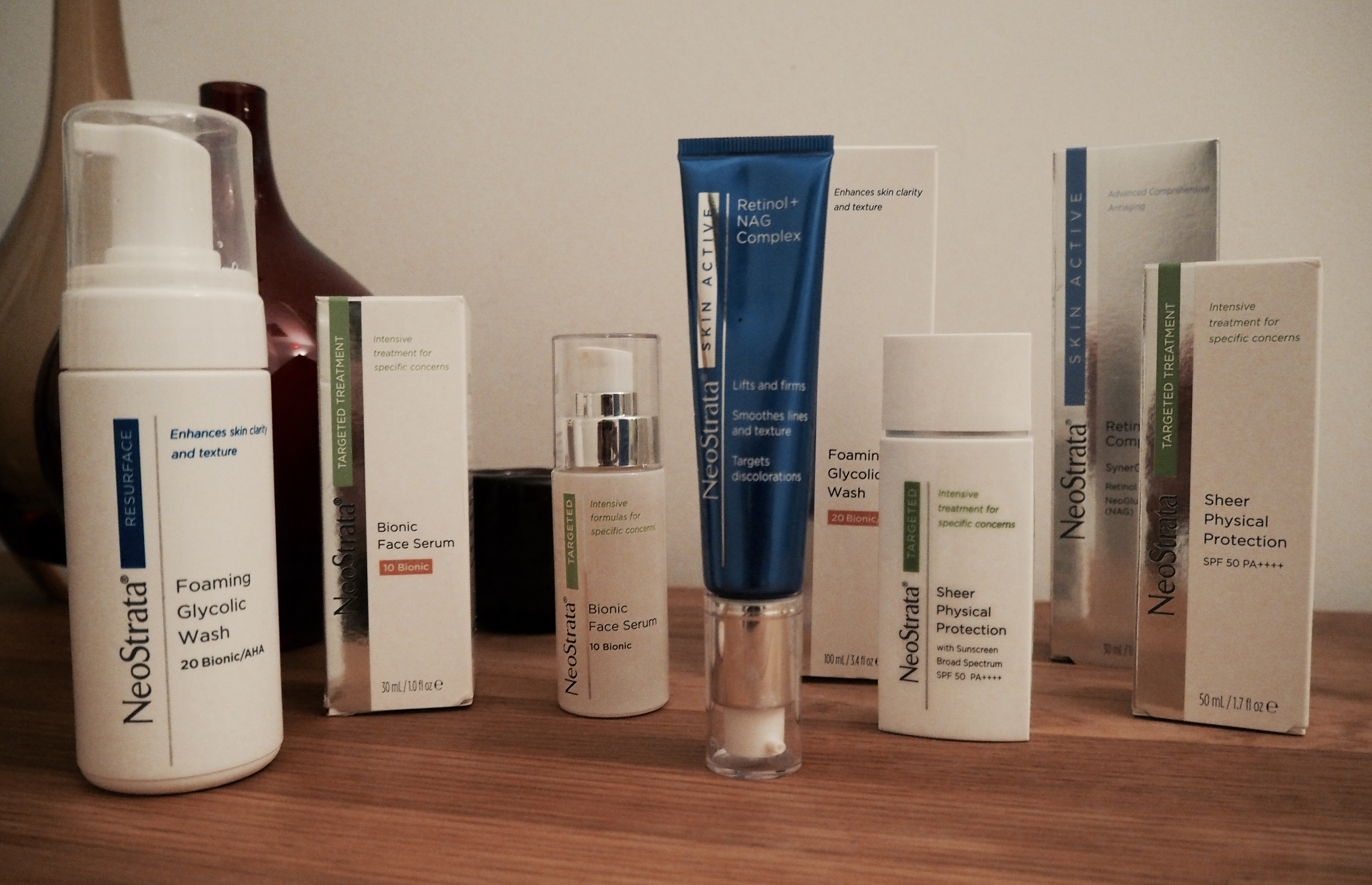 Neostrata Skincare Review With Before