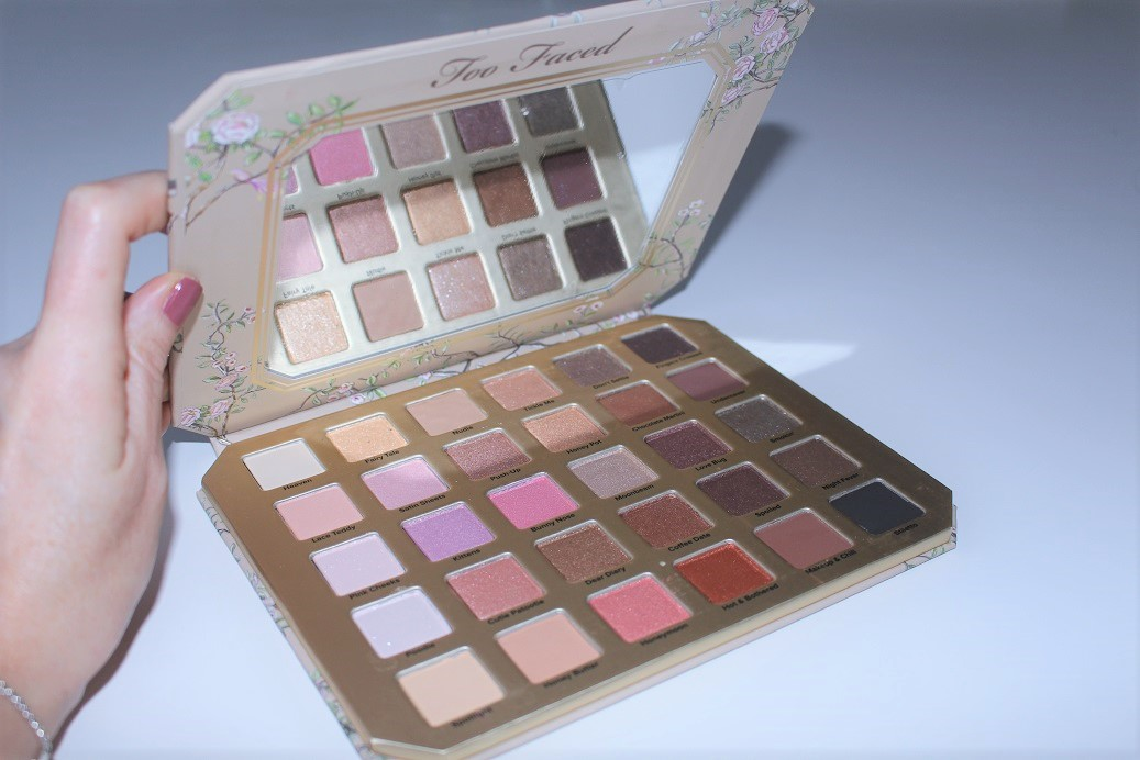 Too Faced Natural Love Neutral Eyeshadow Palette Review