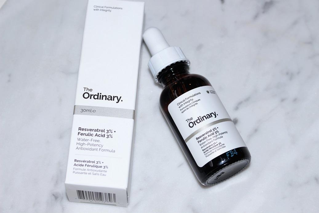 The Ordinary Resveratrol 3 Ferulic Acid 3 Antioxidant Powerhouse