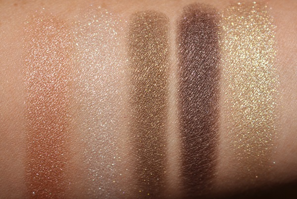 Dior Holiday 2020 Golden Snow 5 Couleurs Swatches
