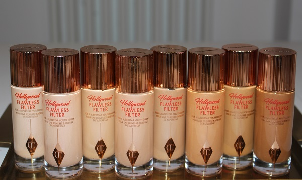 Charlotte Tilbury have added five new shades to their Flawless Filter collection
