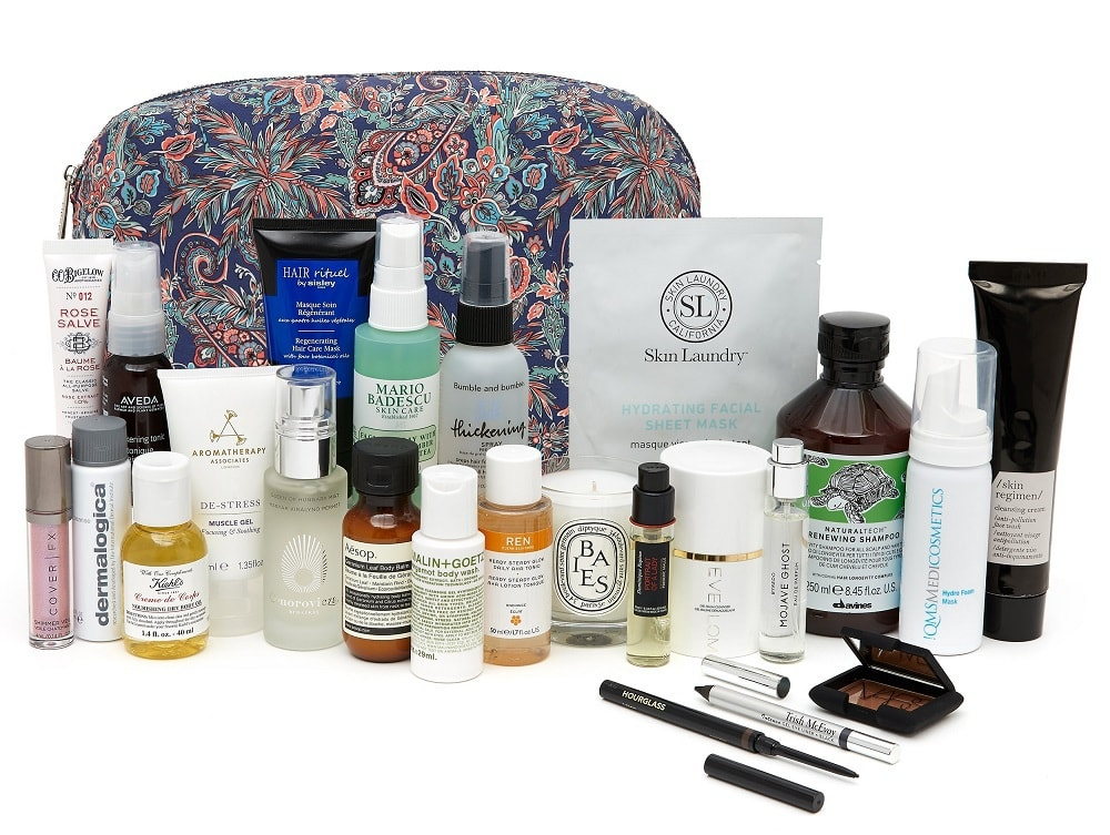 Liberty Beauty Gift with Purchase May 2021 worth £304