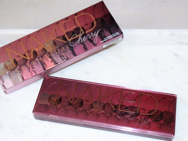 What Urban Decays Naked Cherry Eyeshadow Palette Looks