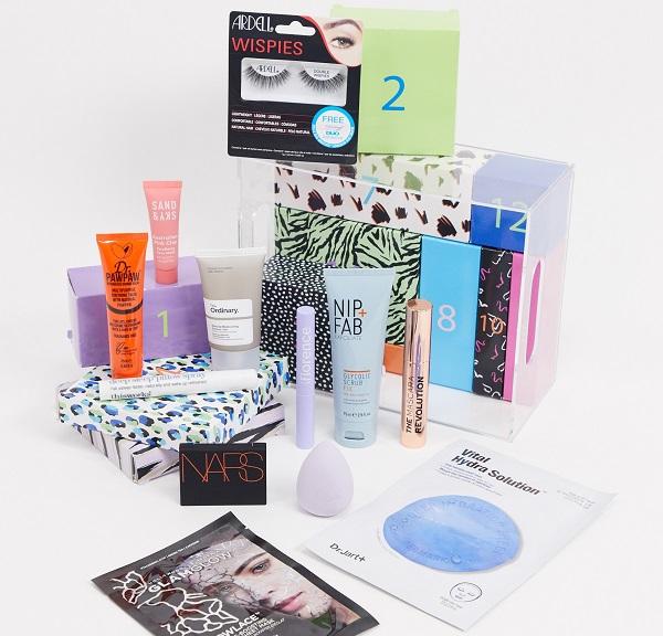 ASOS Beauty Advent Calendar 2020 - Face + Body 12 Day Calendar