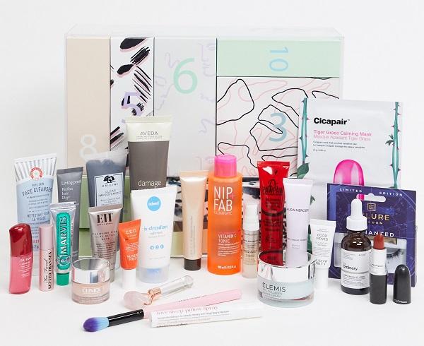 ASOS Beauty Advent Calendar 2020 - Face + Body 24 Day Calendar