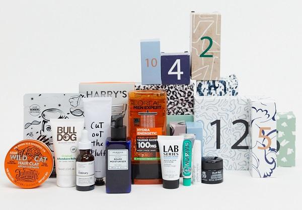 ASOS Beauty Advent Calendar 2020 - Face + Body 12 Grooming Calendar