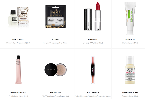 Harrods Beauty Gift with Purchase May 2020