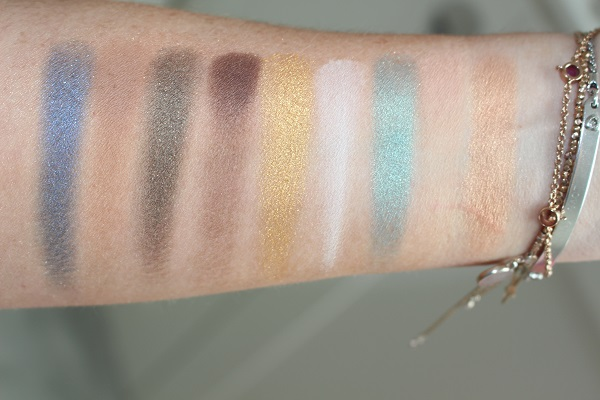 Azur Summer Look Palette Swatches