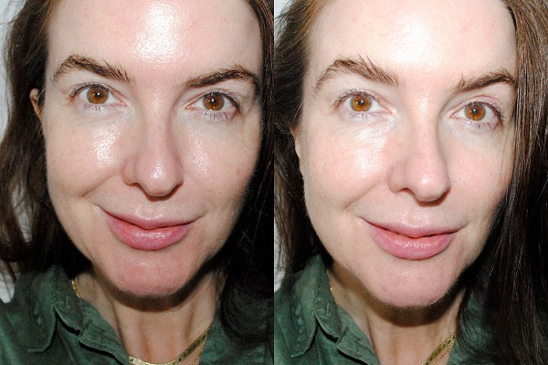 La Mer Perfecting Primer - Before & After