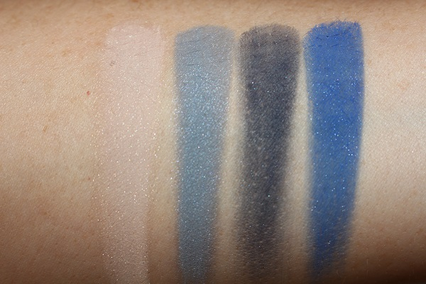 Royal Smoky Eye Brick Swatches