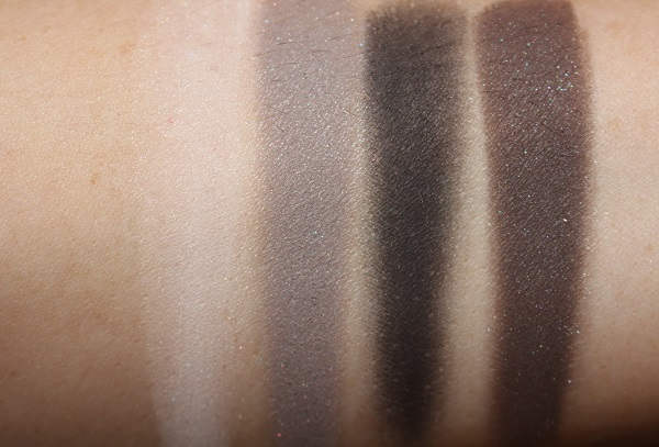 Victoria Beckham Beauty Tuxedo Smoky Eye Brick Swatches