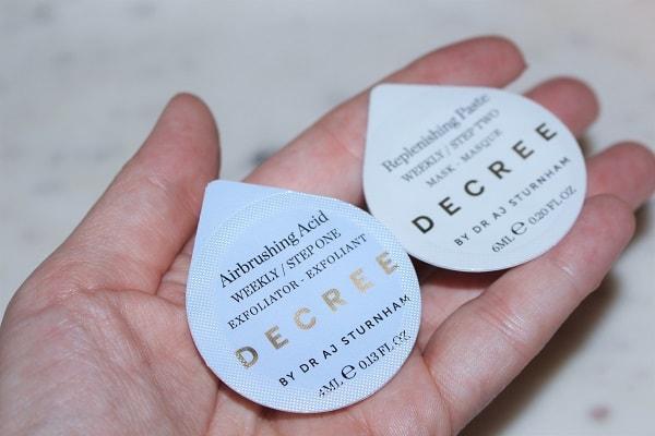 DECREE Weekly Decree Airbrushing Acid & Paste
