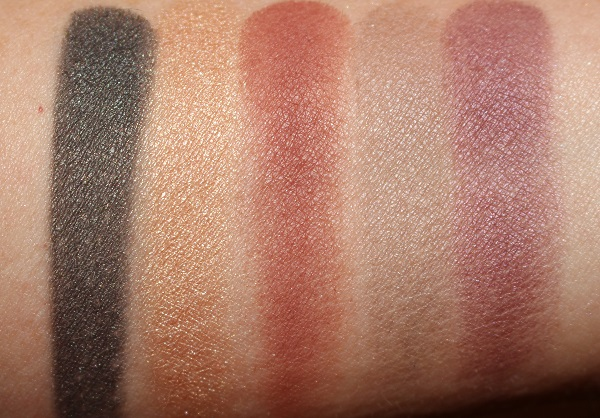 Guerlain Holiday 2020 Golden Bee Eyeshadow Palette Swatches