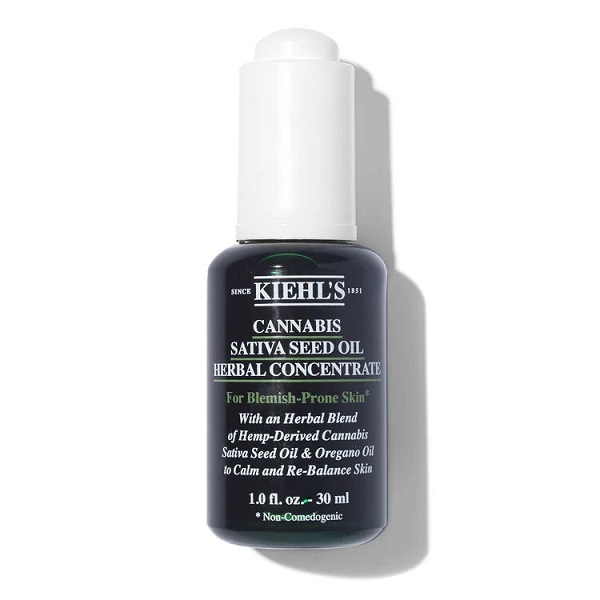 Kiehl's Cannabis Sativa Seed Oil Herbal Concentrate - best face oil 2021
