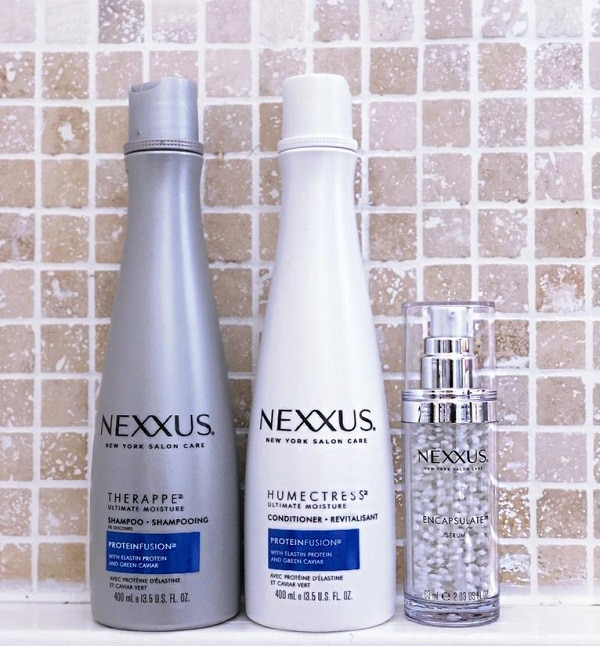 Best Beauty Products of 2019 Nexxus Therappe & Humectress