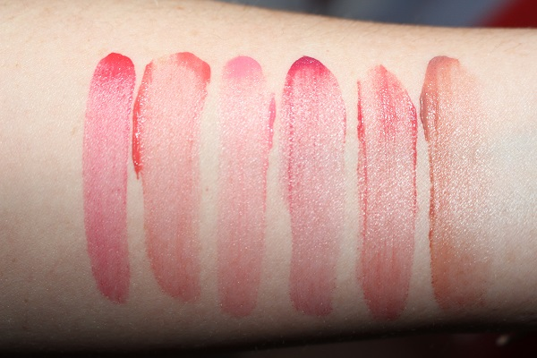 Clarins Lip Milky Mousse Swatches