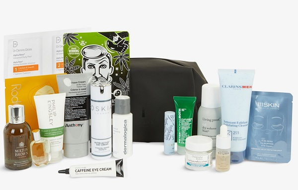 Selfridges Beauty Collection - HIS Bag Christmas 2020