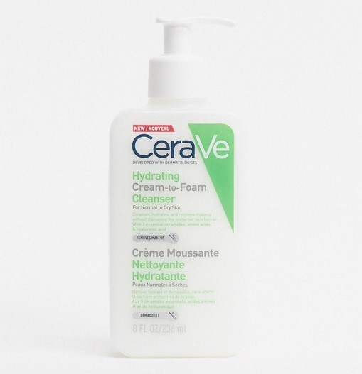 Cerave Cream to Foam Cleanser - Best Skincare 2021