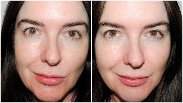 Benefit POREfessional Hydrate Primer Before & After
