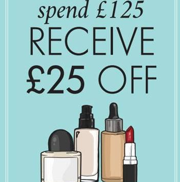 Space NK Spend £125 get £25 Off