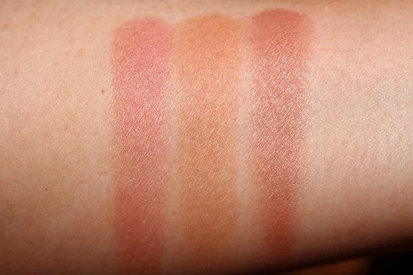 NARS Overlust Cheek Palette - Blush Swatches