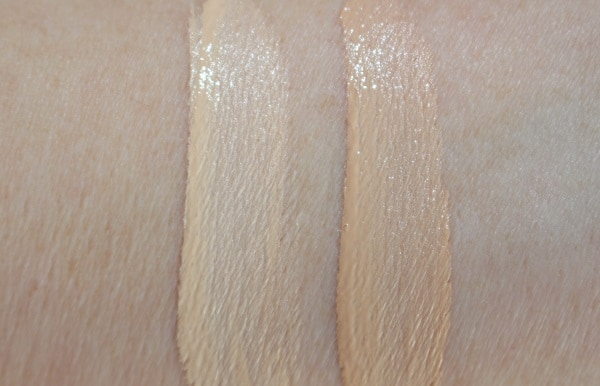 Armani Luminous Silk Multi Purpose Glow Concealer Swatches - 3 & 4