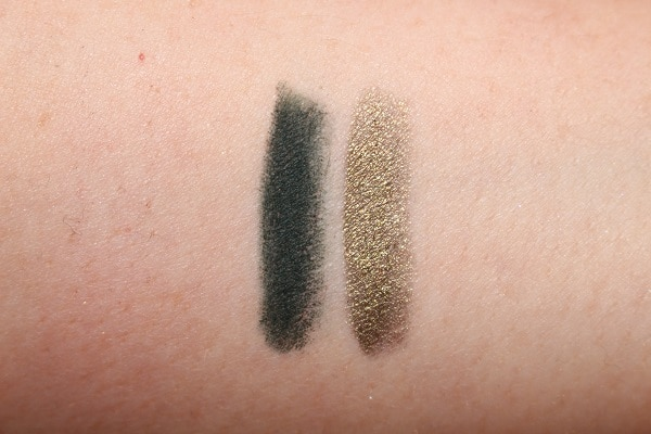 Charlotte Tilbury Green Lights Eye Colour Magic Liner Duo Swatches