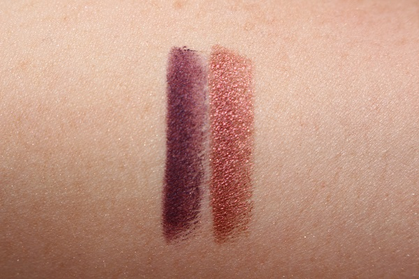 Charlotte Tilbury Mesmerising Maroon Eye Colour Magic Liner Duo Swatches