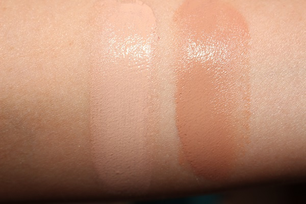 Sisley Phyto Hydra Teint Beautifying Tinted Moisturizer Swatches - 1 & 2