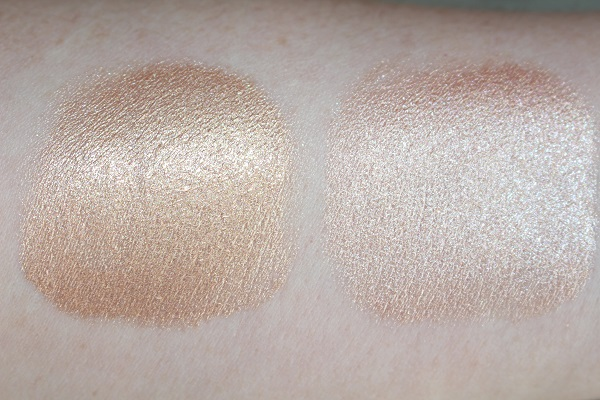 BECCA Ignite Liquified Light Highlighter Swatches - Creativity & Passion
