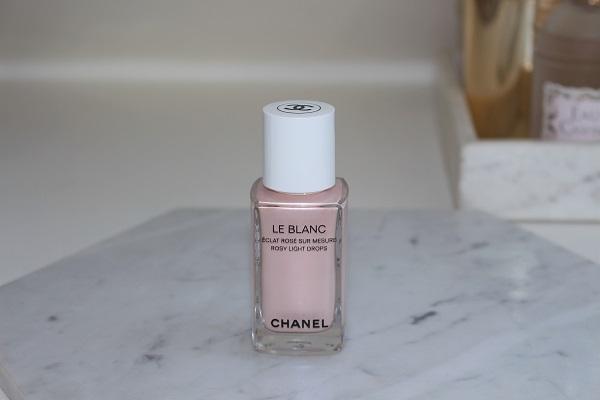 Chanel Le Blanc Rosy Light Drops
