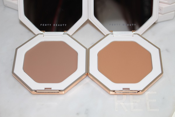 Fenty Beauty Cheeks Out Freestyle Cream Bronzer - Amber & Butta Biscuit