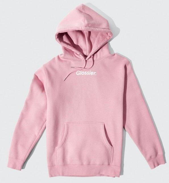 Glossier Pink Hoodie
