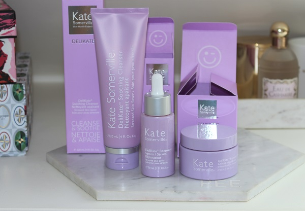 Kate Somerville DeliKate Review - Recovery Cream, Serum & Cleanser