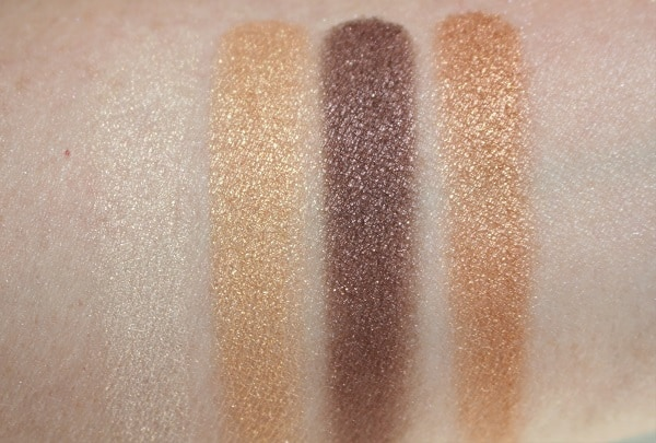 Victoria Beckham Silk Smoky Eye Brick Swatches