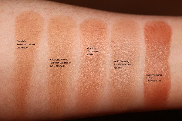 Best Bronzers for Oily Skin Swatches