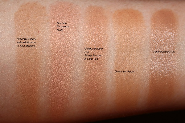 Best Bronzers for Older Skin Swatches