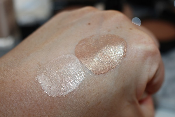 Sheer Healthy Glow Highlighting Fluid Swatches