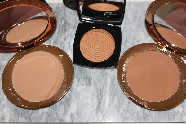 Airbrush Bronzer 2, Chanel Sunset, Arbrush Bronzer 3