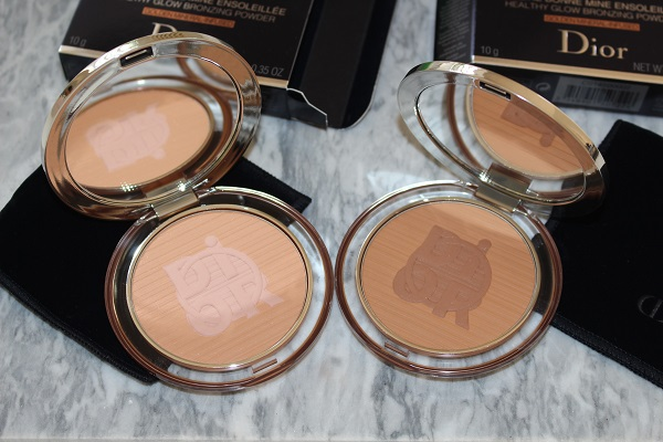 Dior Diorskin Mineral Nude Bronze Color Games - Light Flame & Warm Flame