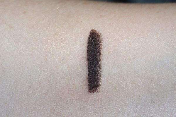 Victoria Beckham Cocoa Satin Kajal Swatch (dried down)