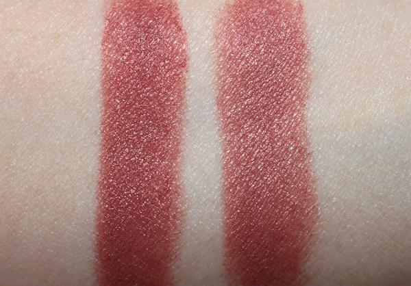 Wedding Belles vs Pillow Talk Lipstick