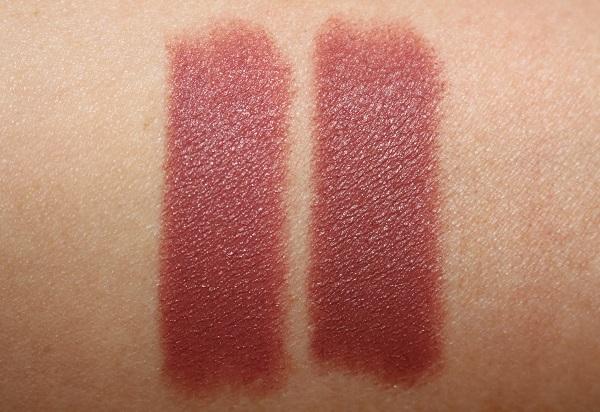 Wedding Belles vs Super Model Lipstick