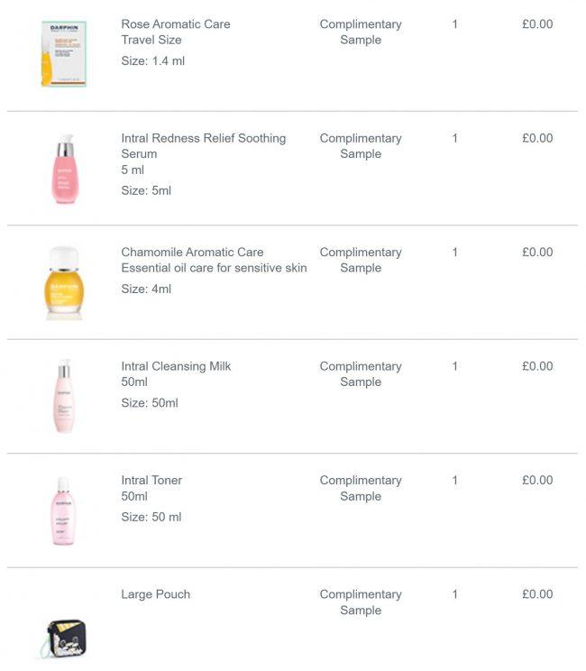 Darphin Discount Code & Free Gift