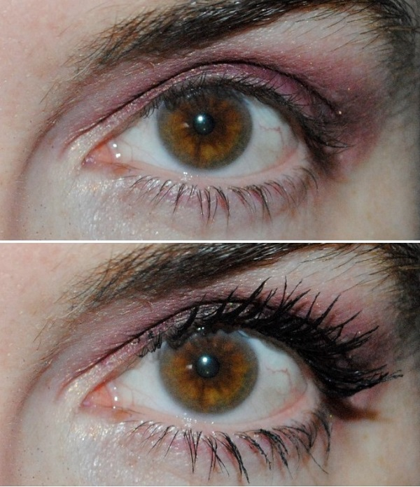 Guerlain Mad Eyes Mascara Before & After
