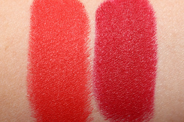 Patrick Ta Major Headlines Matte Suede Lipstick Swatches - She's Not From Here & That's Why She's Late